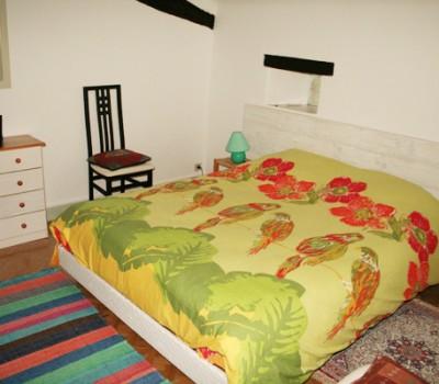 Lit chambre Mykonos