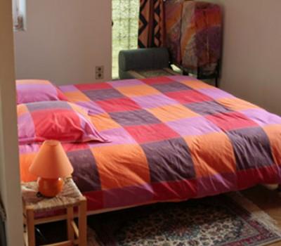 Lit chambre Abricot