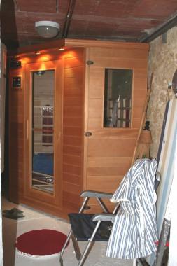 Le Lézard Bleu sauna