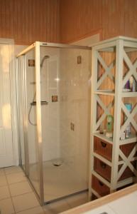 Le Lézard Bleu chambre Mykonos la douche