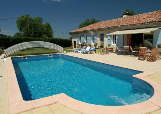 La piscine du Lézard Bleu