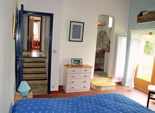 Le Lézard Bleu chambre Istanbul sdb et fenêtre